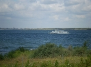 Blick über die Goitzschee vom Nordufer